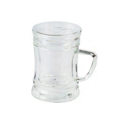 Mug redondo de cristal