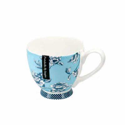 Taza de té turquesa