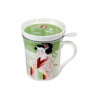 Mug infusor geisha
