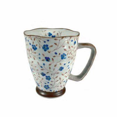 Taza japonesa de cerámica