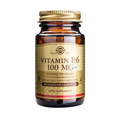 Vitamina B6 Solgar