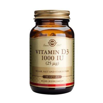 Vitamina D3 Solgar