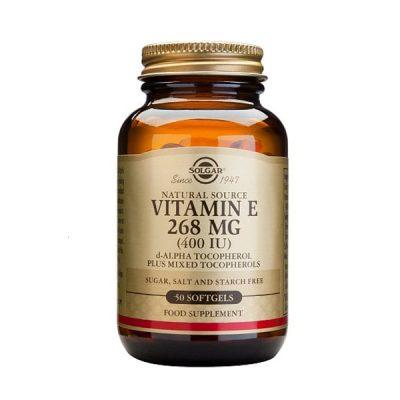 Vitamina E Solgar