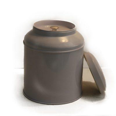 Lata redonda para té
